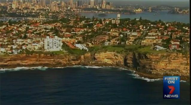 The untreated effluent is being dumped on the doorstep of some of Australia's most exclusive suburbs. Photo: 7 News