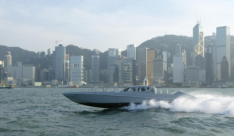 Hong Kong police and customs get new US$21.5 million sea weapon to fight smugglers