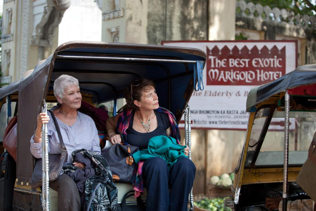 """The Best Exotic Marigold Hotel"": The sleeper senior hit will doubtless find Oscar winner Judi Dench with a supporting actress nomination and possibly Bill Nighy in best supporting actor contention."