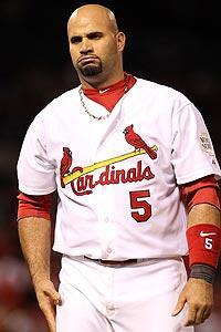 Albert Pujols could also end up being in the Marlins' free-agent plans