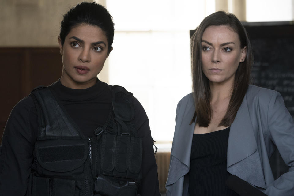 'Quantico'. (Credit: Pat Redmond/Walt Disney Television via Getty Images)