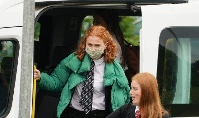 Coronavirus: Scottish pupils will have to wear face coverings at school - pressure grows for PM to act in England