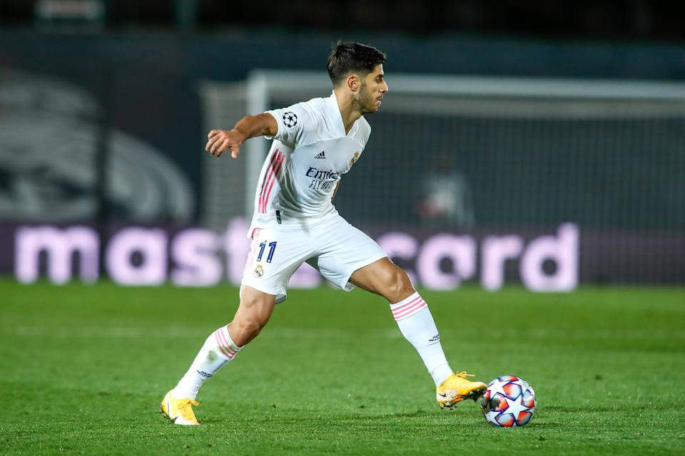 Marco Asensio en el Real Madrid - Inter. (Foto: Oscar J. Barroso / Europa Press Sports via Getty Images)