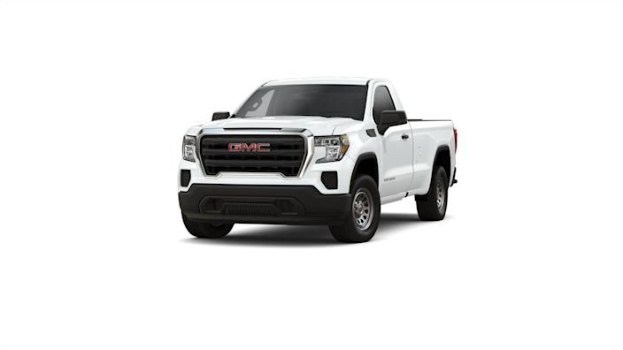"<p><strong>Configuration: </strong>base trim level, regular cab, 4x2, package discount</p><p><a href=""https://www.caranddriver.com/gmc/sierra-1500"" rel=""nofollow noopener"" target=""_blank"" data-ylk=""slk:GMC's Sierra"" class=""link rapid-noclick-resp"">GMC's Sierra</a> is effectively identical to the Chevy Silverado, except for the way it looks. The two trucks share engines and configurations, and are only separated by styling and trim differences. The GMC is a bit more expensive to start in its regular-cab form with a 4.3-liter V-6 engine. (The base price listed here includes a $2000 package discount which may have some stipulations.)</p>"