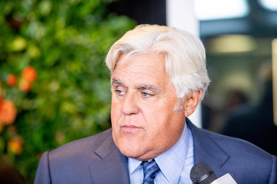Jay Leno attends the 20th Anniversary Hudson River Park gala at Hudson River Park's Pier 62 on October 11, 2018 in New York City.