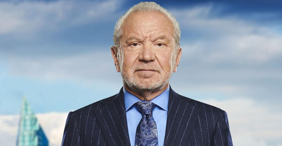 Lord Alan Sugar has revealed when he'll step down from The Apprentice (Photo: BBC)