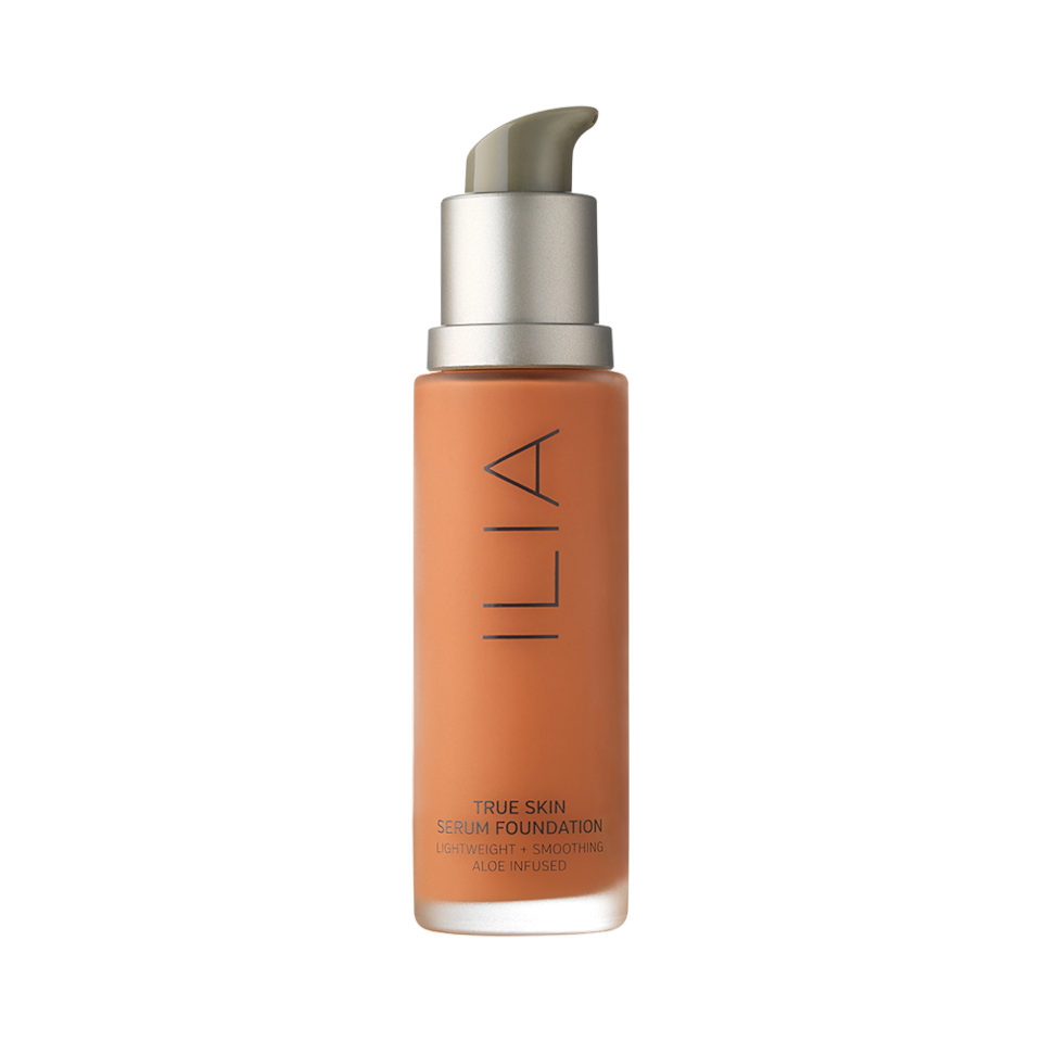 """<p>This formula combines everything you love about your favorite hydrating serum with a medium-coverage foundation. With ingredients like rosehip and jojoba oil, it melts into skin for a natural finish that looks like your skin, only better. </p><p>Buy it <a href=""""https://click.linksynergy.com/deeplink?id=93xLBvPhAeE∣=2417&murl=https%3A%2F%2Fwww.sephora.com%2Fproduct%2Ftrue-skin-serum-foundation-P429548&u1=IS%2CTheBestNaturalBeautyProductsof2019%2Clukase%2CBES%2CGAL%2C3441551%2C201904%2CT"""">here</a> for $54.</p>"""