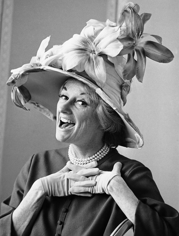 Phyllis Diller on March 18, 1966 in Hollywood, California. (AP Photo/George Brich)