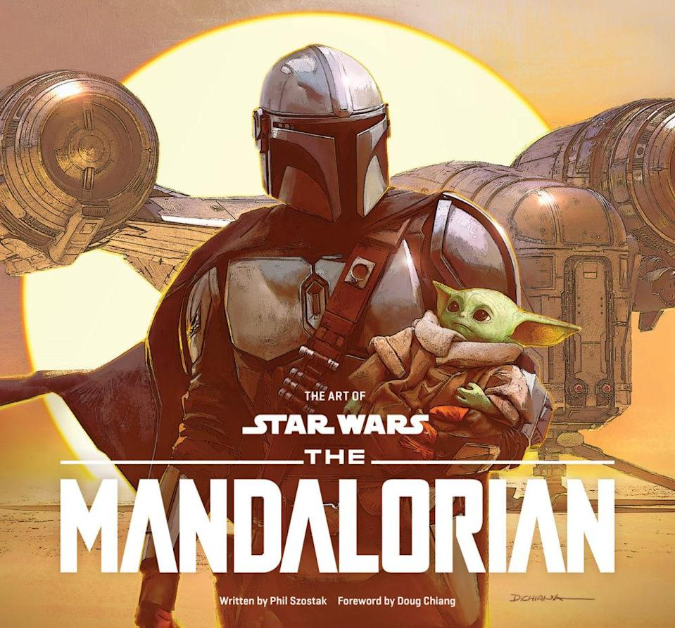 star wars the mandalorian coffee table book