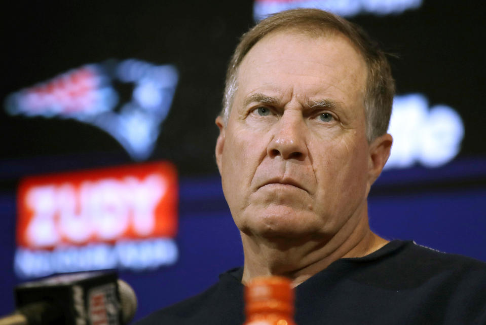 Bill Belichick parted ways with Jimmy Garoppolo in exchange for a second-round draft pick in 2018. (AP)