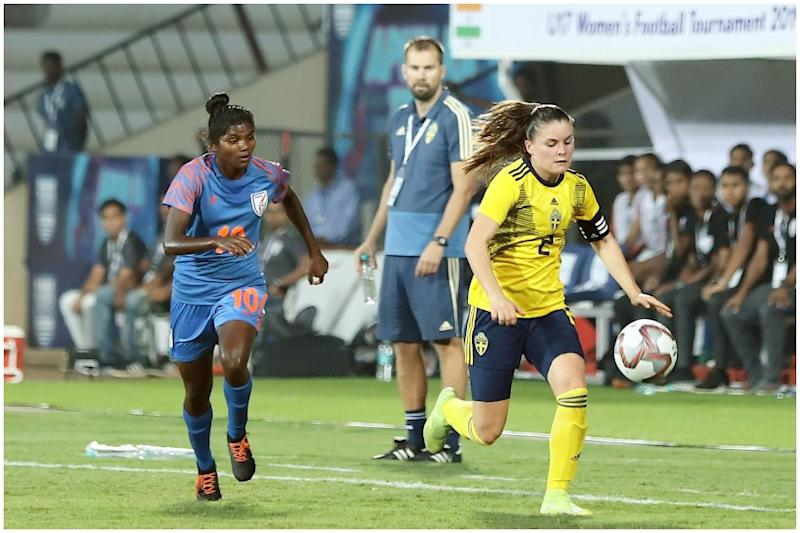U-17 Women's Tournament: India Go Down 3-0 to Sweden in Opening Match in Mumbai