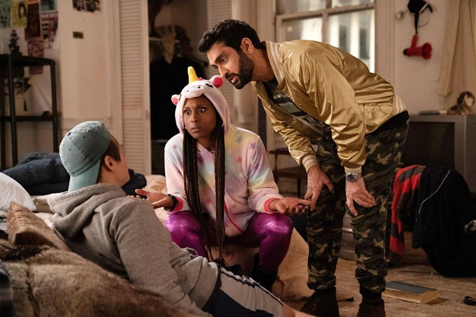 <p><strong>For Leilani:</strong> A rainbow unicorn hoodie with bright purple leggings.</p> <p><strong>For Jibran:</strong> A gold bomber jacket with a graphic tee and camouflage cargo pants.</p>