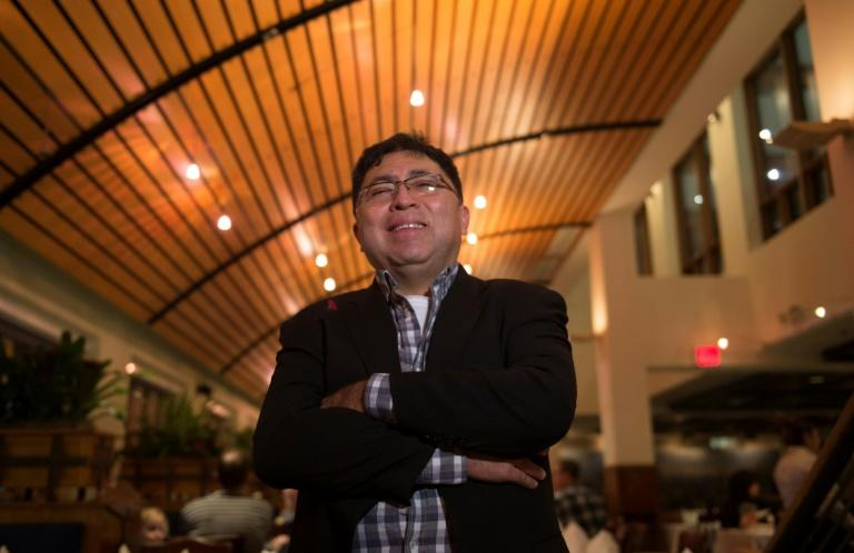 Luis Reyes, a Salvadoran who immigrated to the United States illegally, owns Latin American restaurant Lauriol Plaza in Washington
