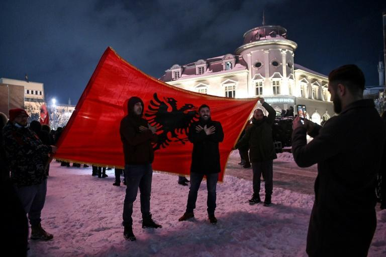 Albin Kurti's Vetevendosje (Self-determination) movement emerged from parliamentary elections as Kosovo's most powerful political force