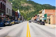 <p>Wallace, Idaho, at the base of the Bitterroot Mountains, is one of only four cities in the United States that is entirely listed on the National Register of Historic Places. </p>