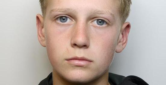 Kenton Knight, 14, will now spend Christmas behind bars after he was accused of showing a complete disregard for court orders. (SWNS)