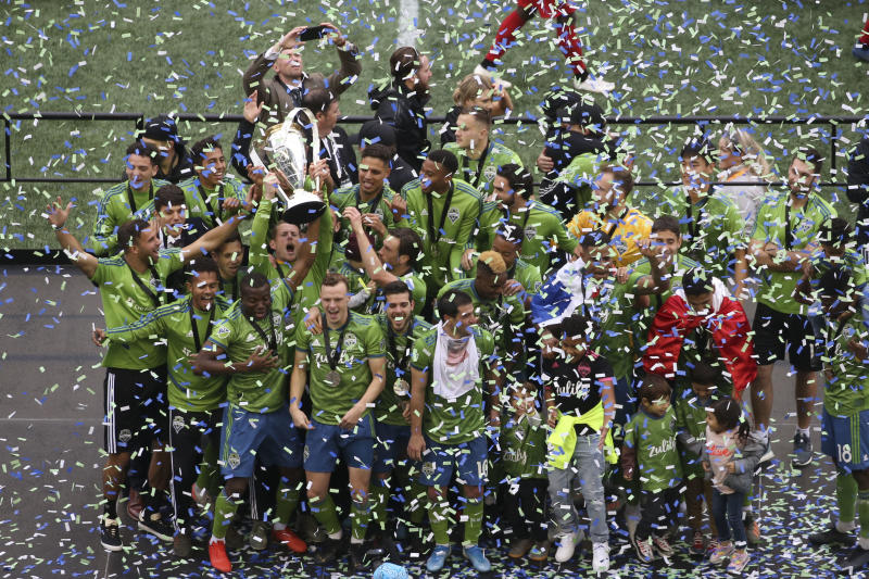 Social Media reacts: Seattle Sounders win the MLS Cup