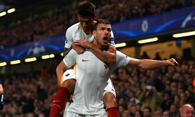 Chelsea ready to offer £44m for Roma's Edin Dzeko and Emerson Palmieri