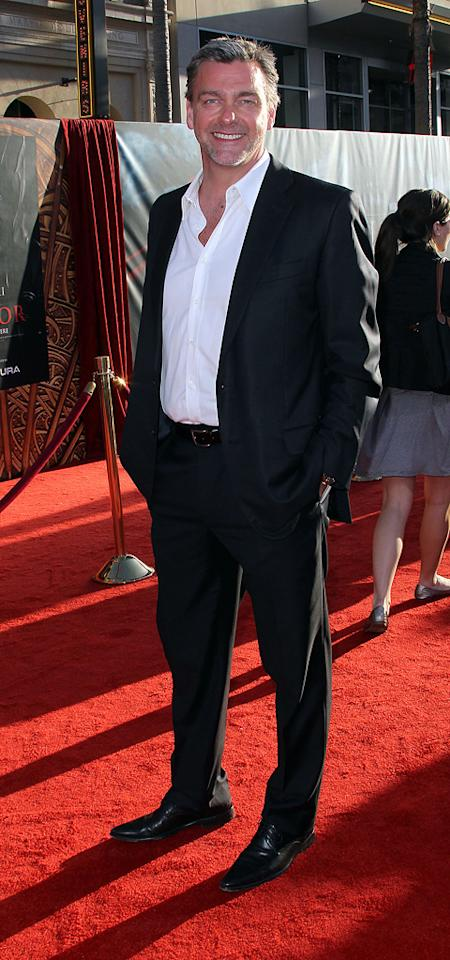"""<a href=""""http://movies.yahoo.com/movie/contributor/1800026326"""">Ray Stevenson</a> attends the Los Angeles premiere of <a href=""""http://movies.yahoo.com/movie/1810026342/info"""">Thor</a> on May 2, 2011."""