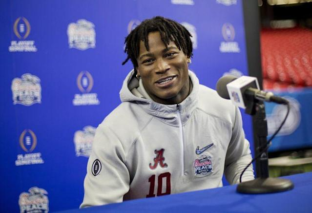 Reuben Foster fell in the draft because of off-field incidents and an injured shoulder. (AP)