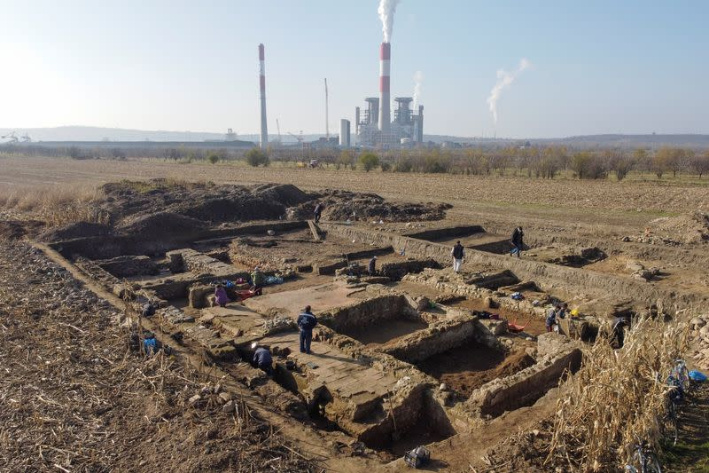 Buried under a Serbian cornfield, Roman military HQ slowly sheds its secret