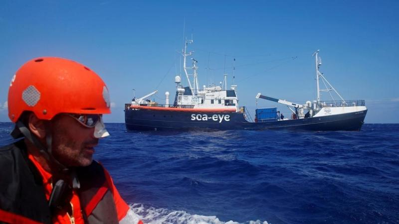 Italy closes ports to charity migrant ship over Covid-19 infection fears