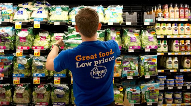 Conventional retailers like Kroger have been more actively cultivating new brands. (CNBC)