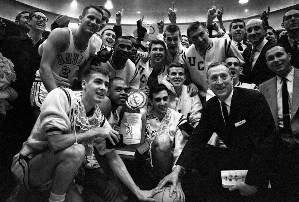 """<p>Basketball fans know how amazing it was to witness <a href=""""https://uclabruins.com/sports/2013/4/17/208274579.aspx"""" rel=""""nofollow noopener"""" target=""""_blank"""" data-ylk=""""slk:John Wooden's UCLA basketball team"""" class=""""link rapid-noclick-resp"""">John Wooden's UCLA basketball team</a> finish its 30–0 season with a huge NCAA championship win over Duke. </p>"""