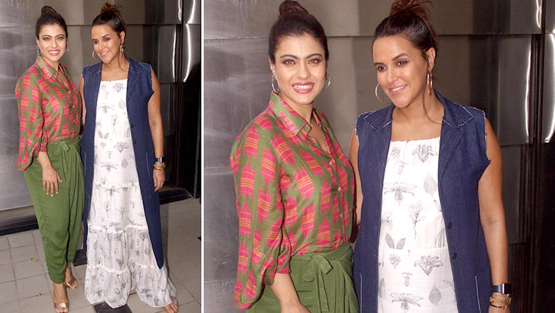Kajol Shares THE Most Important Advice on Parenting With Pregnant Neha Dhupia