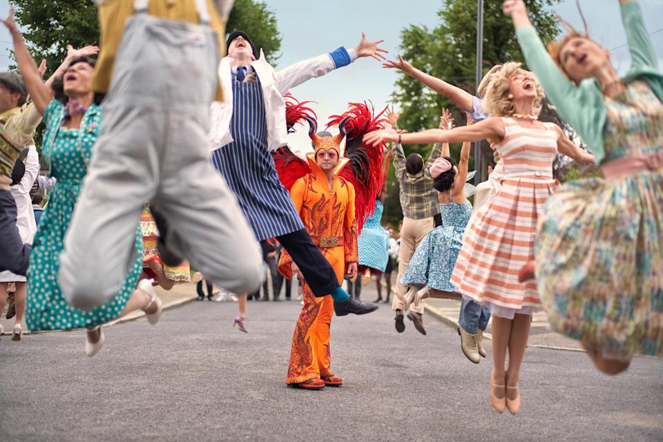 In the wake of <em>Bohemian Rhapsody</em>'s Oscar success, all eyes turned to Elton John biopic <em>Rocketman</em>, which turned the pop legend's songbook into a fun, no holds barred musical biography. (Credit: Paramount)