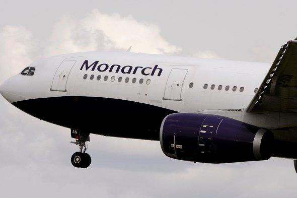Monarch airlines to open base at East Midlands Airport