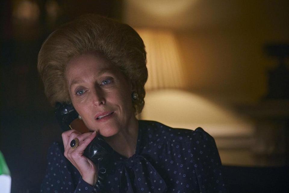 Gillian Anderson as Margaret Thatcher in season four of 'The Crown' (Des Willie/Netflix)