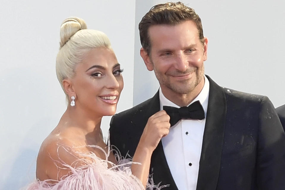 """Nominees for the 91st Annual Academy Awards (Oscars) - ceremony to be held Sunday, February 24th, 2019 - """"A Star Is Born"""" nominated for Best Picture, Lady Gaga nominated for Best Actress In A Leading Role for """"A Star Is Born"""" and Bradley Cooper nominated for Best Actor In A Leading Role for """"A Star Is Born"""" - File Photo by: zz/KGC-294/STAR MAX/IPx 2018 8/31/18 Lady Gaga and Bradley Cooper at the premiere of """"A Star Is Born"""" at the Venice Film Festival in Venice, Italy."""
