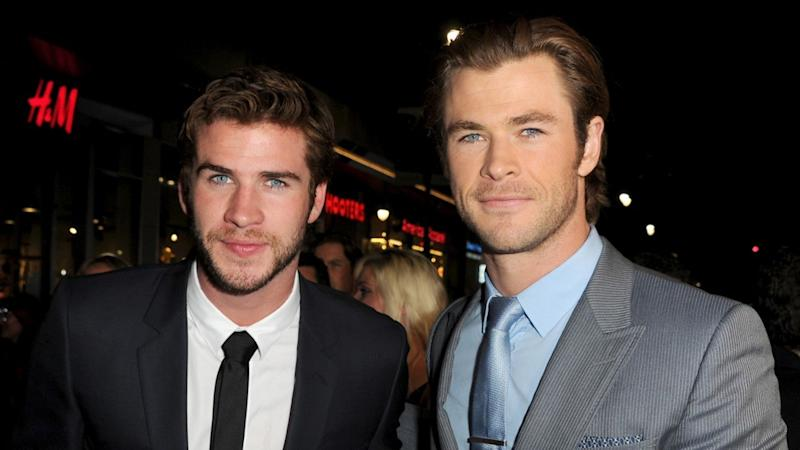 Chris and Liam Hemsworth Go Shirtless for 'Inaugural Hemsy X-Games'
