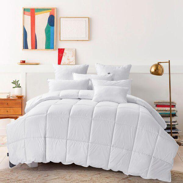 """<p><strong>Alwyn Home</strong></p><p>wayfair.com</p><p><strong>$108.90</strong></p><p><a href=""""https://go.redirectingat.com?id=74968X1596630&url=https%3A%2F%2Fwww.wayfair.com%2Fbed-bath%2Fpdp%2Falwyn-home-600-fill-power-summer-duck-down-comforter-w000127002.html&sref=https%3A%2F%2Fwww.cosmopolitan.com%2Flifestyle%2Fg33338019%2Fbest-cooling-comforters-for-hot-sleepers%2F"""" rel=""""nofollow noopener"""" target=""""_blank"""" data-ylk=""""slk:Shop Now"""" class=""""link rapid-noclick-resp"""">Shop Now</a></p><p>It's hard to resist anything with summer in the name, but the lightweight, breathable fabric makes it an even easier sell.</p>"""