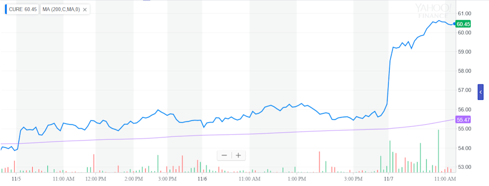 Leveraged Healthcare ETF Gains On Midterm Election Results 1