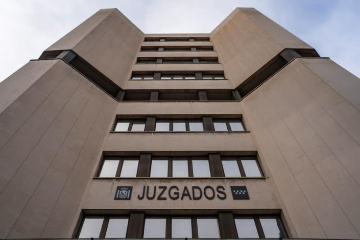 An exterior view of the Spanish Civil Court building in Madrid