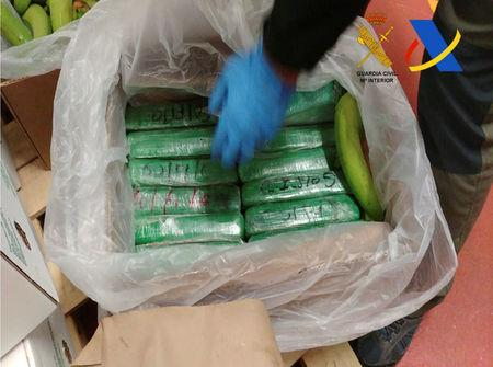 Spanish interior ministry confirms massive cocaine haul