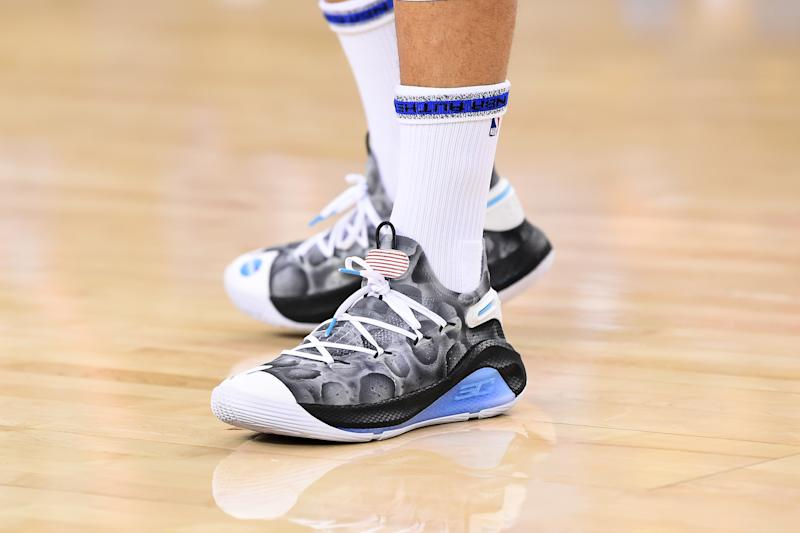 acbd3884f5f7 Stephen Curry releases  Moon Landing  Curry 6s