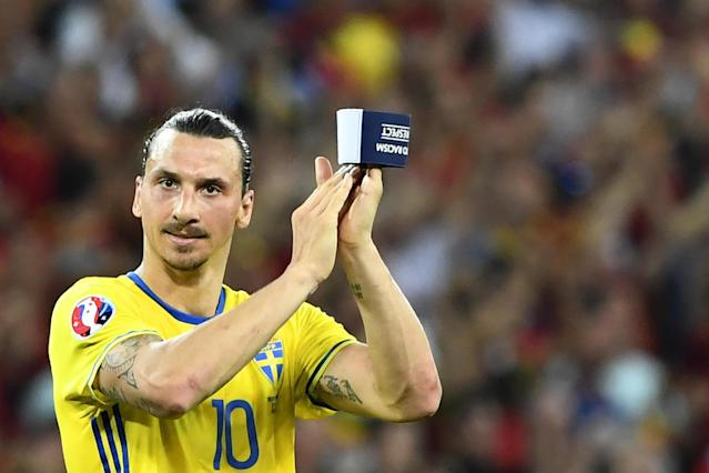 Zlatan Ibrahimovic mulling Sweden comeback for World Cup after Manchester United exit