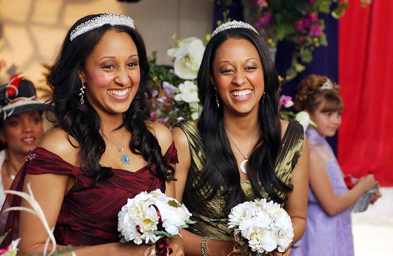 """<p>A few years after their run in <strong>Sister, Sister</strong>, Tia and Tamera Mowry play twin witches in <strong>Twitches</strong>. Separated as babies and raised as normal humans, they bump into each other on their 21st birthday. </p> <p>Watch <a href=""""https://www.popsugar.com/buy?url=https%3A%2F%2Fwww.amazon.com%2FTwitches%2Fdp%2FB00GZIIBGG%2F1504659224&p_name=%3Cstrong%3ETwitches%3C%2Fstrong%3E&retailer=amazon.com&evar1=buzz%3Aus&evar9=43965454&evar98=https%3A%2F%2Fwww.popsugar.com%2Fentertainment%2Fphoto-gallery%2F43965454%2Fimage%2F43965456%2FTwitches-Twitches-Too&list1=movies%2Challoween%2Cdisney%2Cdisney%20movies%2Challoween%20entertainment&prop13=api&pdata=1"""" rel=""""nofollow"""" data-shoppable-link=""""1"""" target=""""_blank"""" class=""""ga-track"""" data-ga-category=""""Related"""" data-ga-label=""""https://www.amazon.com/Twitches/dp/B00GZIIBGG/1504659224"""" data-ga-action=""""In-Line Links""""><strong>Twitches</strong></a> and <a href=""""https://www.popsugar.com/buy?url=https%3A%2F%2Fwww.amazon.com%2Fgp%2Fvideo%2Fdetail%2FB00GZI6LZO&p_name=%3Cstrong%3ETwitches%20Too%3C%2Fstrong%3E&retailer=amazon.com&evar1=buzz%3Aus&evar9=43965454&evar98=https%3A%2F%2Fwww.popsugar.com%2Fentertainment%2Fphoto-gallery%2F43965454%2Fimage%2F43965456%2FTwitches-Twitches-Too&list1=movies%2Challoween%2Cdisney%2Cdisney%20movies%2Challoween%20entertainment&prop13=api&pdata=1"""" rel=""""nofollow"""" data-shoppable-link=""""1"""" target=""""_blank"""" class=""""ga-track"""" data-ga-category=""""Related"""" data-ga-label=""""https://www.amazon.com/gp/video/detail/B00GZI6LZO"""" data-ga-action=""""In-Line Links""""><strong>Twitches Too</strong></a> on Amazon.</p>"""