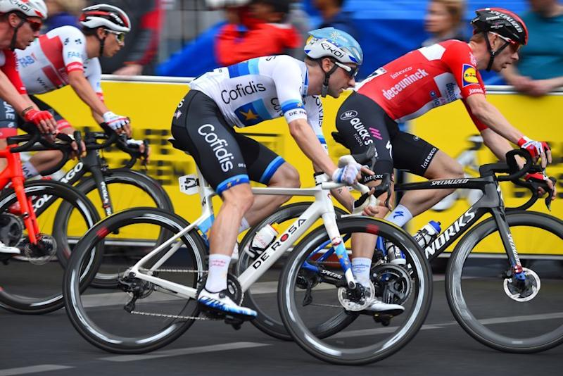 Elia Viviani made his Cofidis debut at the 2020 Schwalbe Classic