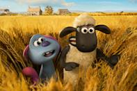 """<p><strong>Nominated for:</strong> Best Animated Feature Film (Richard Phelan, Will Becher, and Paul Kewley)</p> <p><strong>What it's about:</strong> An animated romp along the lines of E.T.—everyone's favorite British sheep harbors an alien friend on the farm!</p> <p><strong>Where to watch:</strong> <a href=""""https://cna.st/affiliate-link/2Z6F81fjBAMUbaw55t2E8q41eU5eDQYHEH5vMP7s8X5gXGxyxd3zMWPNSLVfSbD6S5rxYoM8tGAYsiVuAMA3TguQtLXK?cid=607c831848c995b3b00ffc3e"""" rel=""""nofollow noopener"""" target=""""_blank"""" data-ylk=""""slk:Stream now on Netflix"""" class=""""link rapid-noclick-resp"""">Stream now on Netflix</a></p>"""