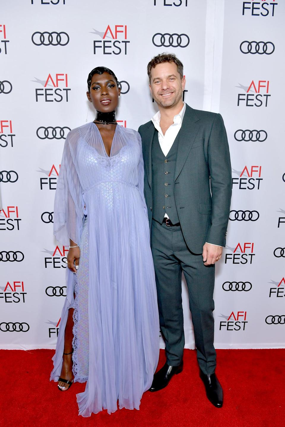 "<p>After secretly tying the knot, <strong>Us Weekly</strong> confirmed in December 2019 that <a href=""https://www.popsugar.com/celebrity/jodie-turner-smith-pregnant-with-first-child-47041962"" class=""link rapid-noclick-resp"" rel=""nofollow noopener"" target=""_blank"" data-ylk=""slk:the couple is expecting their first child together"">the couple is expecting their first child together</a>. </p>"