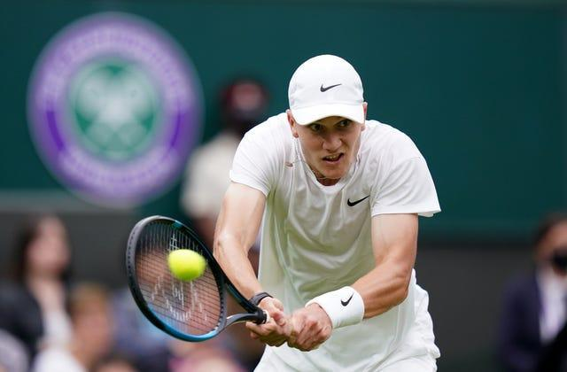 Jack Draper acquitted himself well on his Wimbledon debut