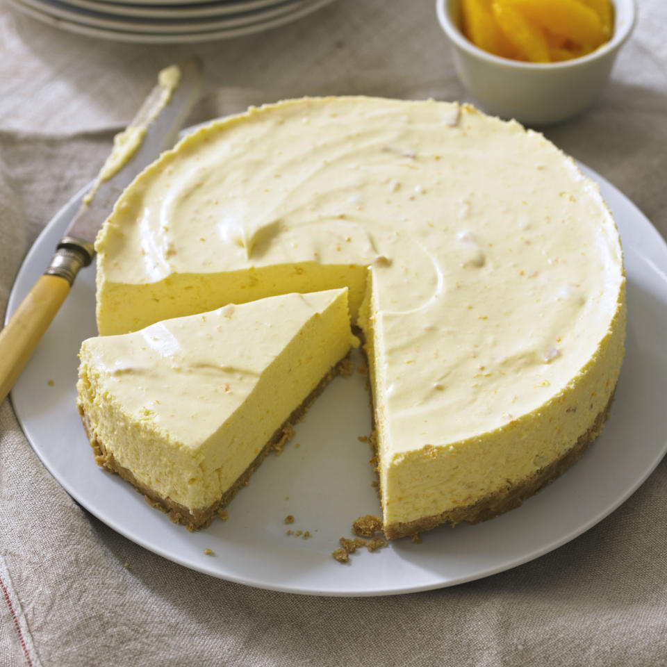 Seville Orange Cheesecake