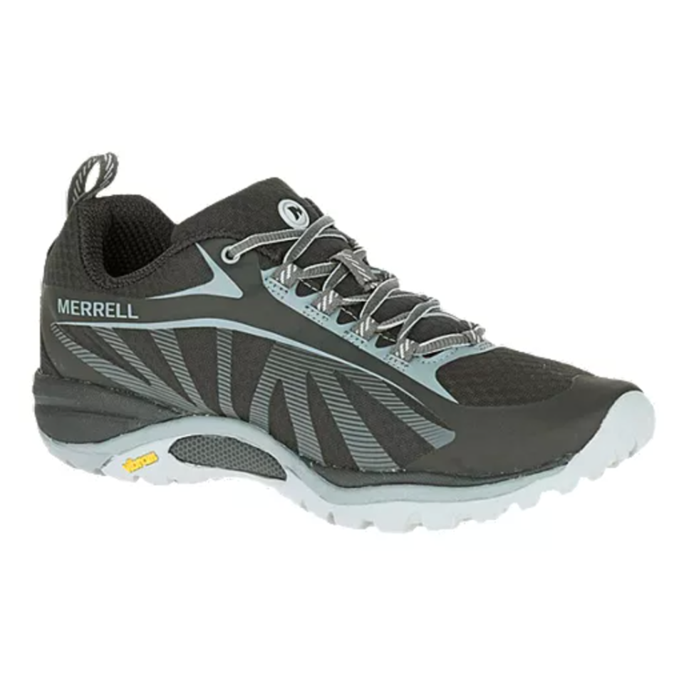 Merrell 'Siren Edge' Hiking Shoes in Black (Photo via Sport Chek Canada)