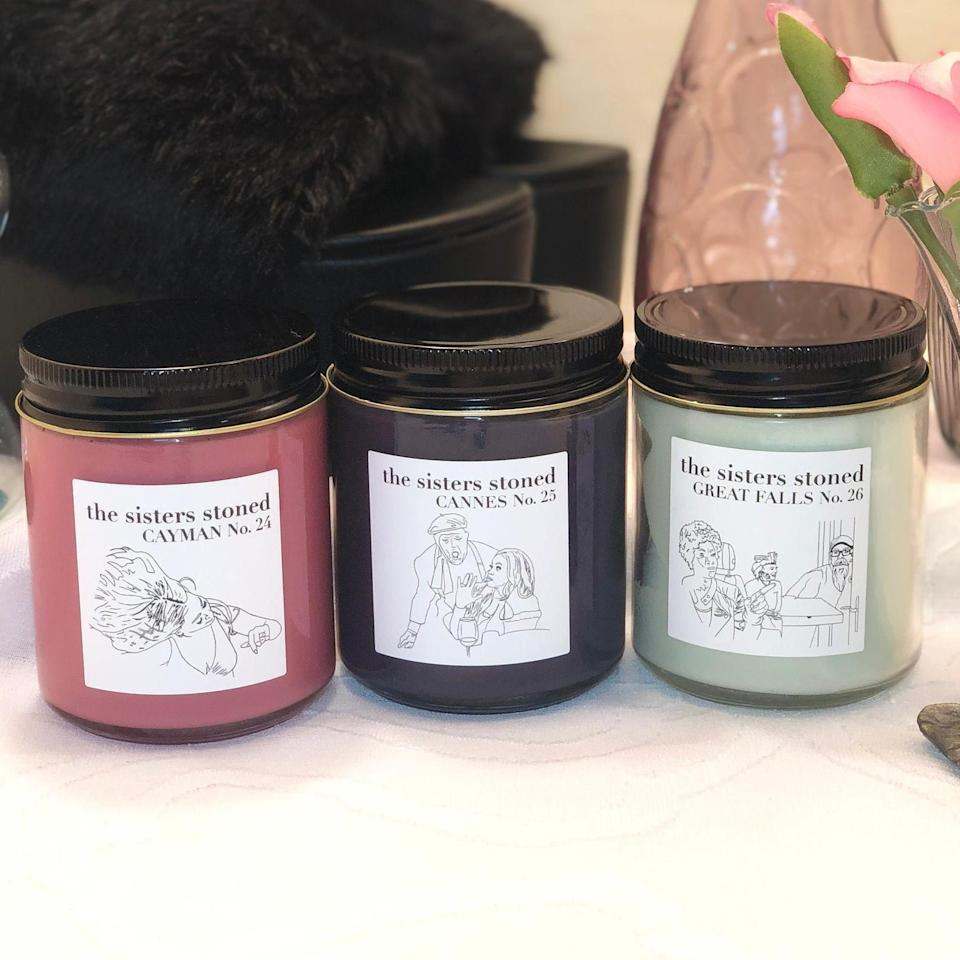 <p>The <span>Real Housewives Of Potomac Candle Set</span> ($55) smells divine.</p>