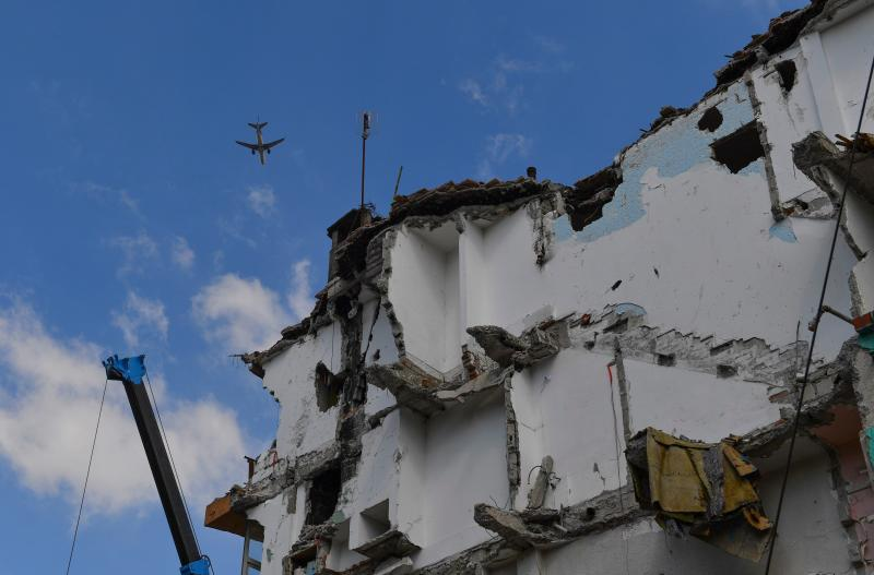 Mexico was hit by a magnitude 7.1 earthquake in September - This content is subject to copyright.