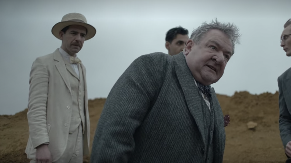 Ken Stott in The Dig (Credit: Netflix)